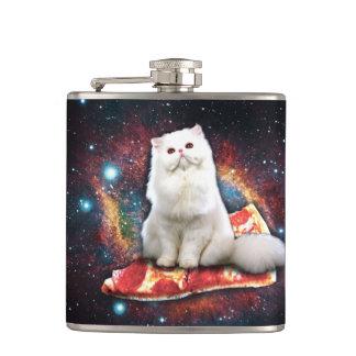 宇宙猫ピザ フラスク