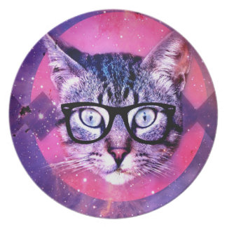 宇宙猫 プレート