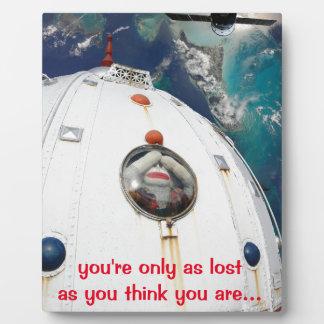 宇宙猿で失った フォトプラーク