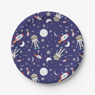 宇宙猿の紙皿 ペーパープレート