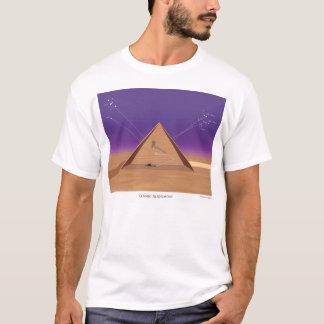 宇宙直線-人のTシャツ Tシャツ