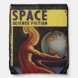 宇宙科学のフィクションの漫画本の漫画の明るいおもしろい ナップサック