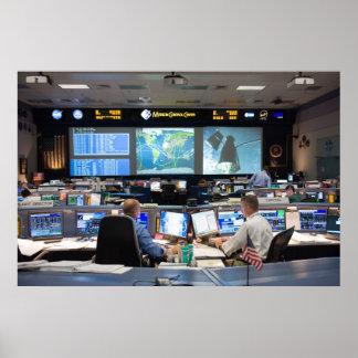 宇宙管制センターの中心 ポスター