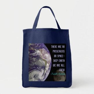宇宙船の地球バッグ トートバッグ