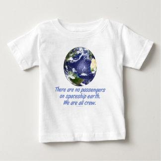 宇宙船の地球、環境 ベビーTシャツ