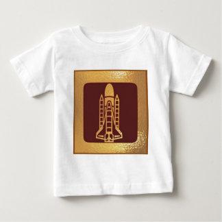 宇宙船の宇宙の技術 ベビーTシャツ