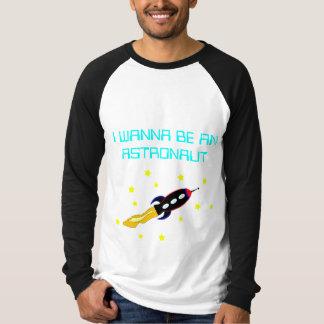 宇宙船の長袖のRaglanのTシャツ Tシャツ
