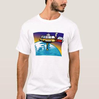 宇宙船のTシャツ Tシャツ