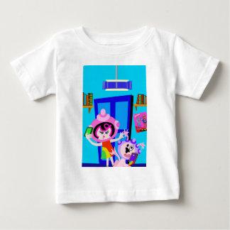 宇宙船ベティおよびBubblegumはSelfieをします ベビーTシャツ