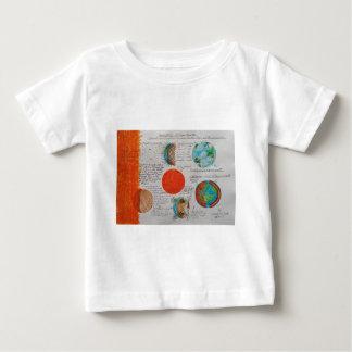 宇宙船空Earth.JPG ベビーTシャツ