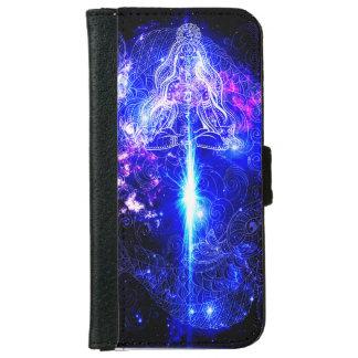 宇宙虹色のコイ iPhone 6/6S ウォレットケース