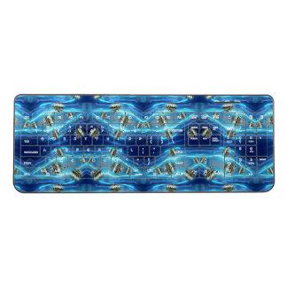 宇宙雨浮遊金属の低下 ワイヤレスキーボード