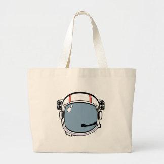 宇宙飛行士のヘルメット ラージトートバッグ