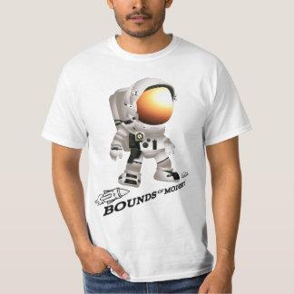 宇宙飛行士のワイシャツ Tシャツ