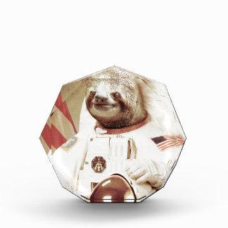 宇宙飛行士の怠惰 表彰盾