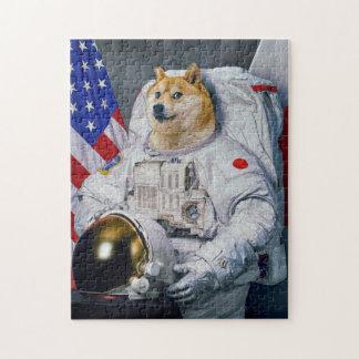 宇宙飛行士の総督 ジグソーパズル