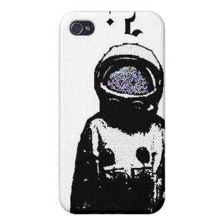 宇宙飛行士のIphone単独4/4sの例 iPhone 4 ケース