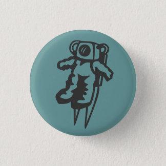 宇宙飛行士ボタンのバッジ 缶バッジ