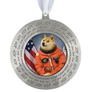 宇宙飛行士犬-総督- shibe -総督のミーム オーナメント