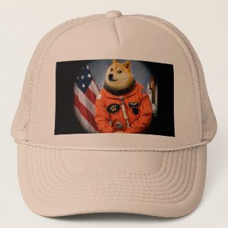 宇宙飛行士犬-総督- shibe -総督のミーム キャップ