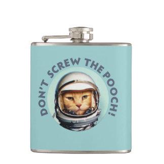 宇宙飛行士猫 フラスク