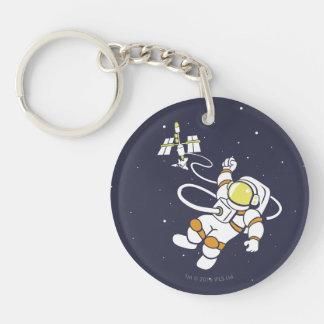 宇宙飛行士 キーホルダー