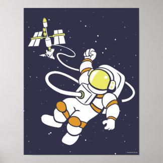 宇宙飛行士 ポスター