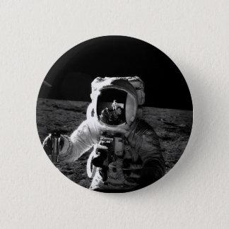宇宙飛行士 5.7CM 丸型バッジ