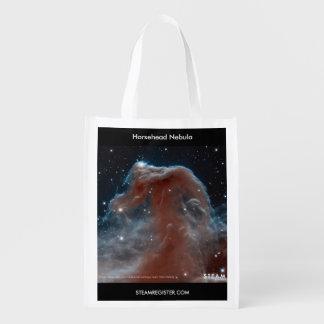 宇宙驚異- Horseheadの星雲のエコバッグ エコバッグ