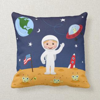 宇宙、かわいい子供の漫画のカスタムの枕の友人 クッション