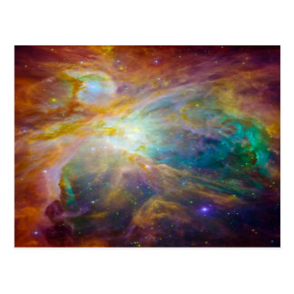 宇宙-オリオンの無秩序 ポストカード