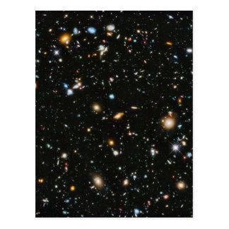 宇宙-ハッブルの超深い分野の星 ポストカード