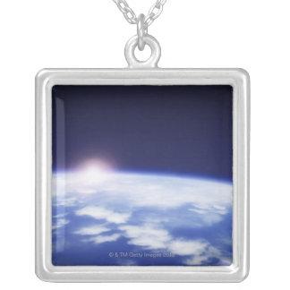 宇宙|上昇|太陽|上で|惑星|地球 オリジナルジュエリー