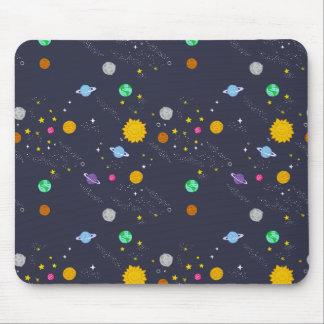 宇宙、宇宙、ファンタジーのマウスパッド マウスパッド