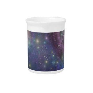 宇宙、星、銀河系および星雲 ピッチャー