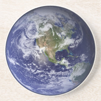宇宙-西半球からの地球 コースター