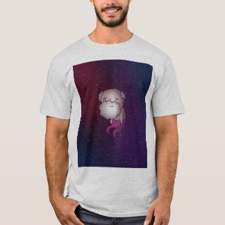 宇宙(Tシャツ)の年配の人 Tシャツ