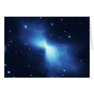 宇宙NASAのブーメランの星雲 カード