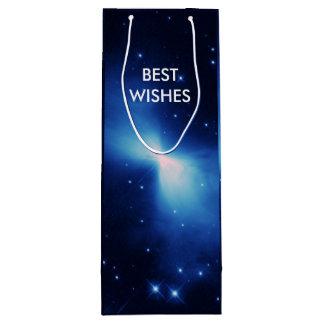 宇宙NASAのブーメランの星雲 ワインギフトバッグ