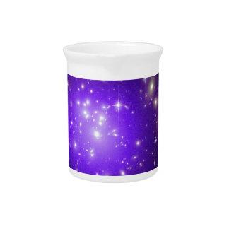 宇宙NASAの紫色の星の霞 ピッチャー