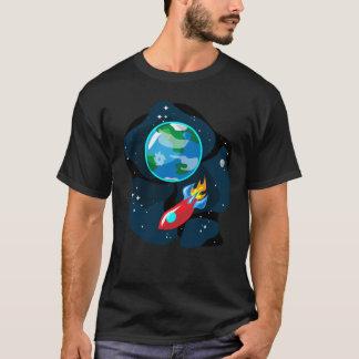 宇宙Rocketship Tシャツ