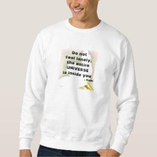 宇宙Rumiの引用文 スウェットシャツ