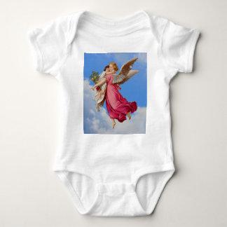 守り神および子供の乳児のワイシャツ ベビーボディスーツ