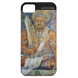 守護神赤保護者の神の赤のImperturbability iPhone SE/5/5s ケース