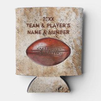 安く名前入りなフットボール・チームのギフト、クーラーボックス 缶クーラー