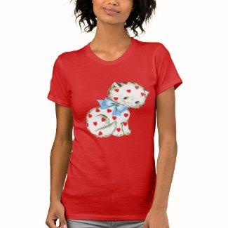 安っぽい子猫 TEE シャツ