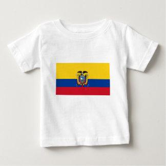 安価! エクアドルの旗 ベビーTシャツ