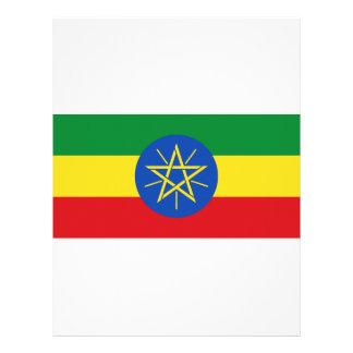安価! エチオピアの旗 レターヘッド