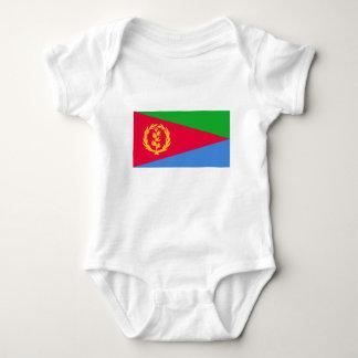 安価! エリトリアの旗 ベビーボディスーツ