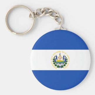 安価! エルサルバドルの旗 キーホルダー